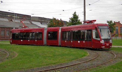 Сбербанк поставил трамваи для Казани