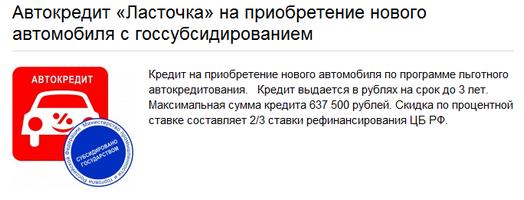 Автокредит БТА-Казань