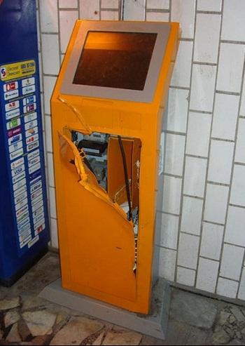 Взлом платежного терминала