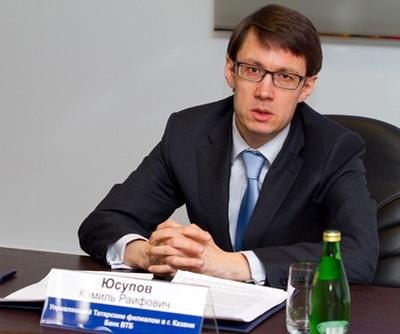 Камиль Юсупов, ВТБ в Татарстане