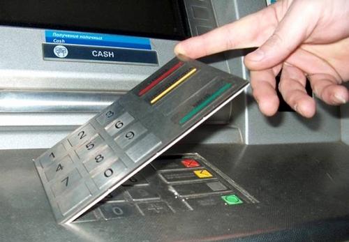Скиммер банкомата