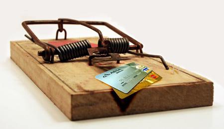 Кредитные карты мышеловка