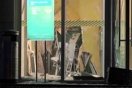 Взрыв банкомата в Сбербанке Казань