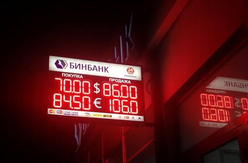 Табло банка курс валют
