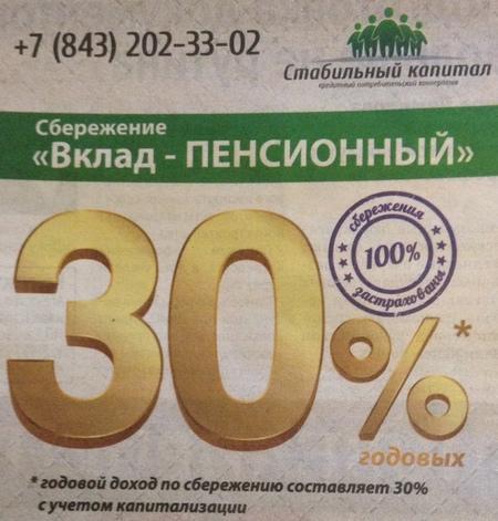 КПК Стабильный капитал в Казани