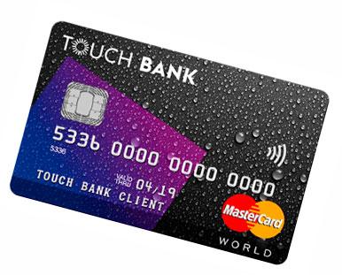 карта Touch Bank в Казани